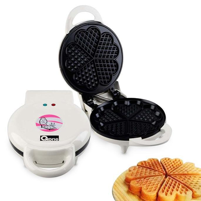 Cetakan Kue Waffle / Waffle Maker Oxone Ox-831 - Dapurmamadina