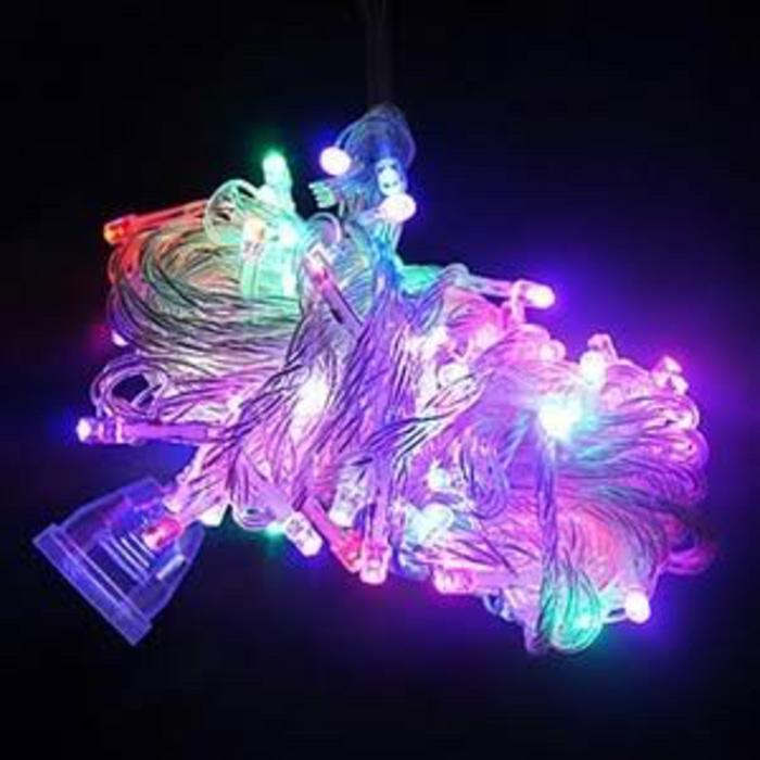 78Star Lampu Hias Warna Warni Lampu Natal Dekorasi LED Tumblr 10m + Colokan Sambungan - RGB/Warna Warni