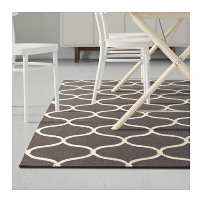 IKEA STOCKHOLM Karpet Handmade India 170x240 cm, cokelat
