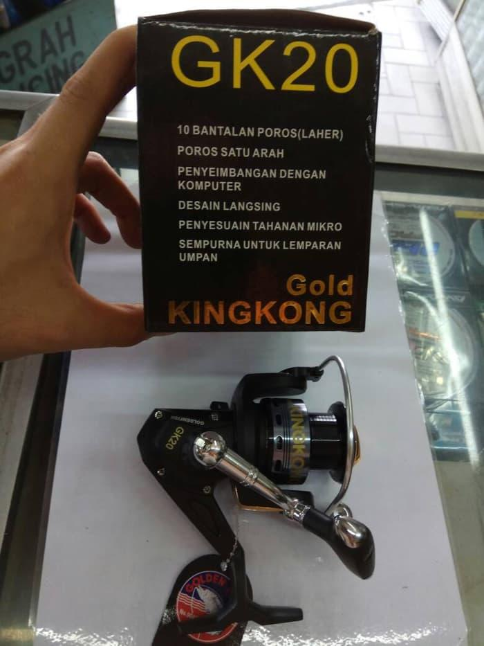 BEST SELLER!!! rell/reel pancing golden fish kingkong gk20 - XioEHH
