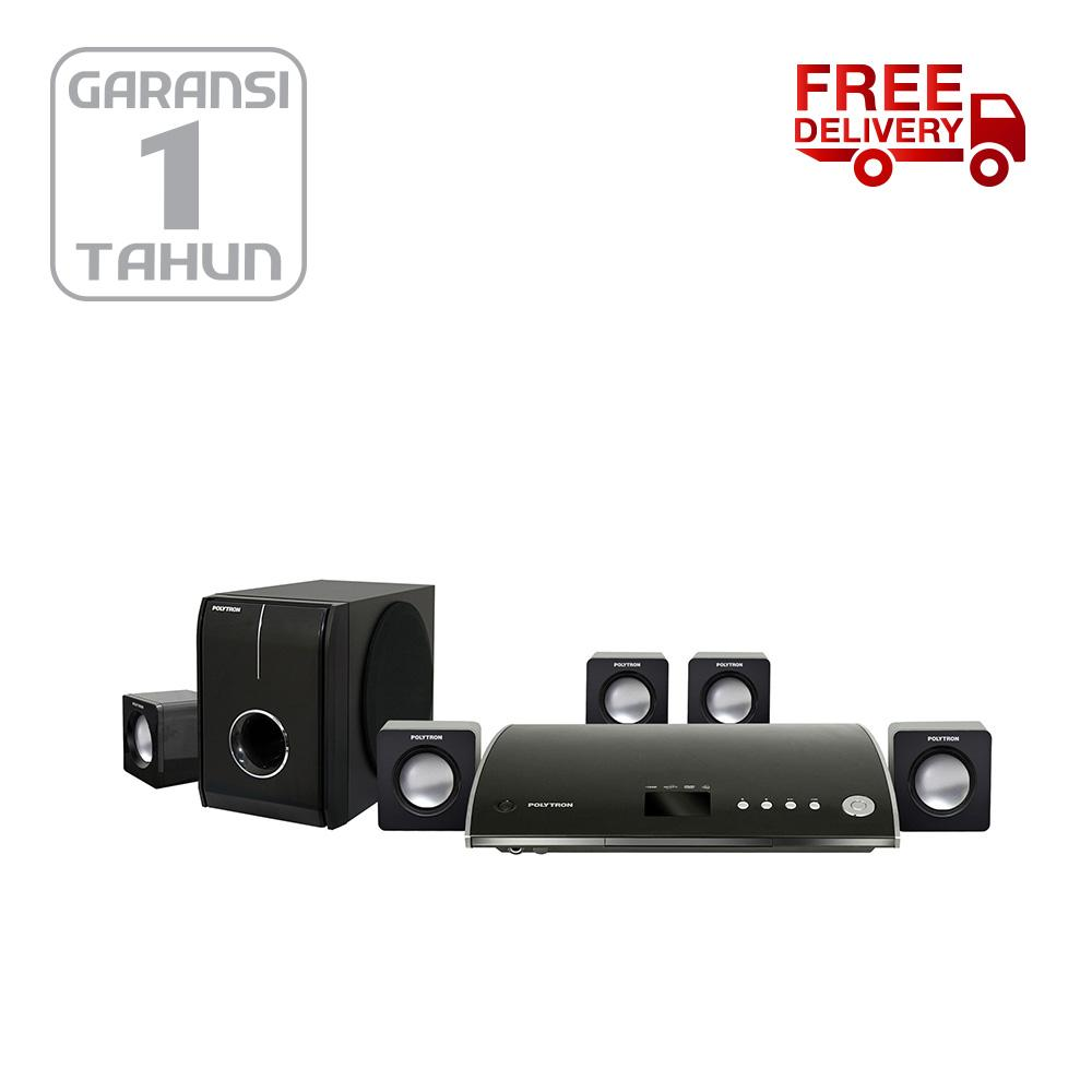 Polytron PHT138 Home Theatre 5.1 with HDMI Output - Khusus JADETABEK