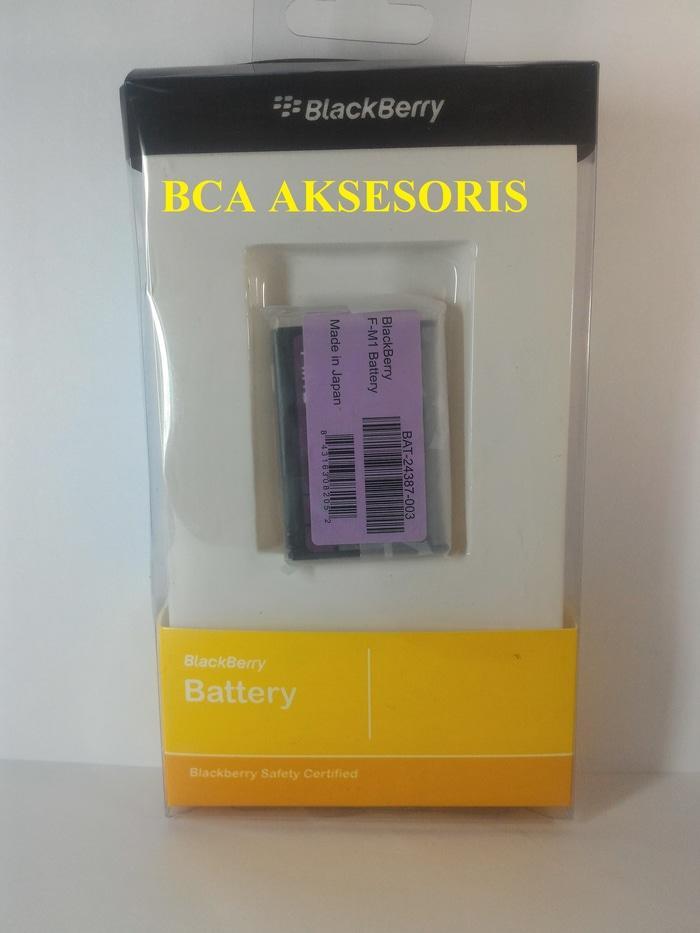 BATERAI BLACKBERRY ORIGINAL 100% F-M1/ BB PEARL 9105/ STYLE 9670