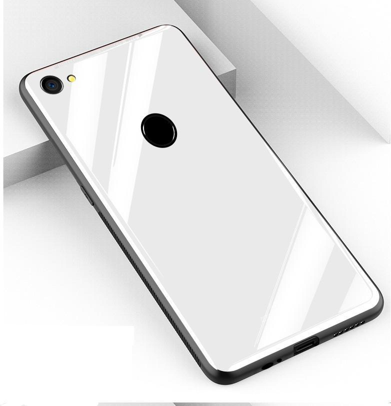 ... OPPO F7 Glass Case Full Protection Clear Tempered Glass Back Cover Casing for Oppo F7 Case ...
