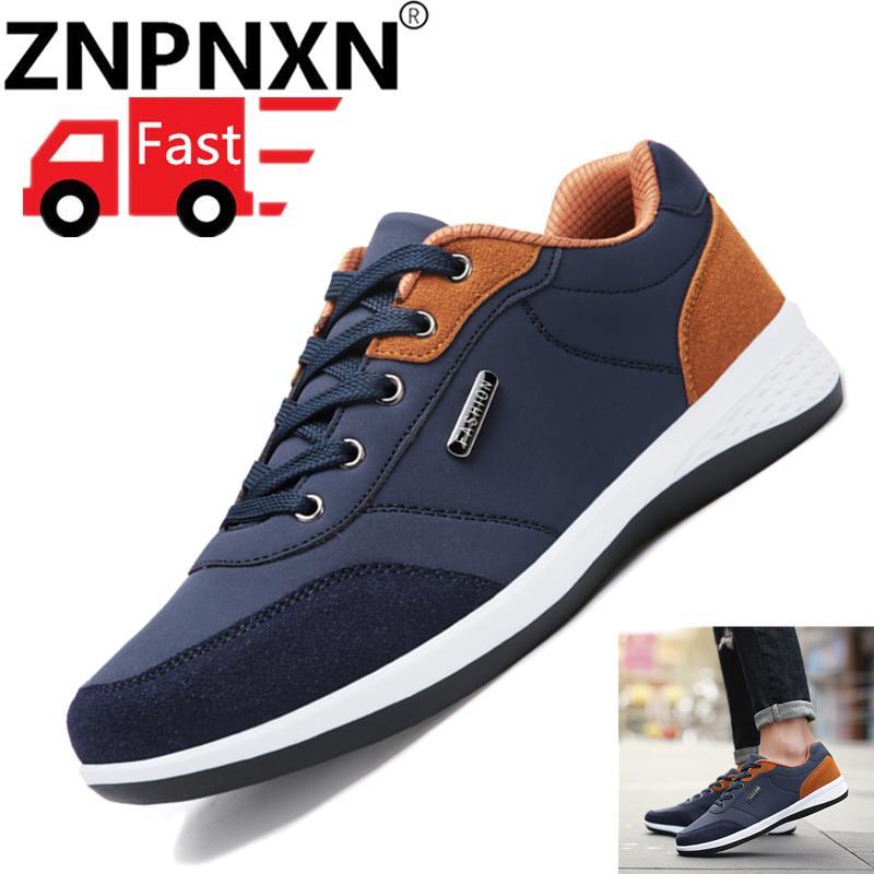 ZNPNXN Pria s Sneakers Kasual Bernapas Sepatu Olahraga Pria Sneakers Sepatu  Olahraga untuk Pria Laki-laki aa7bfb1858