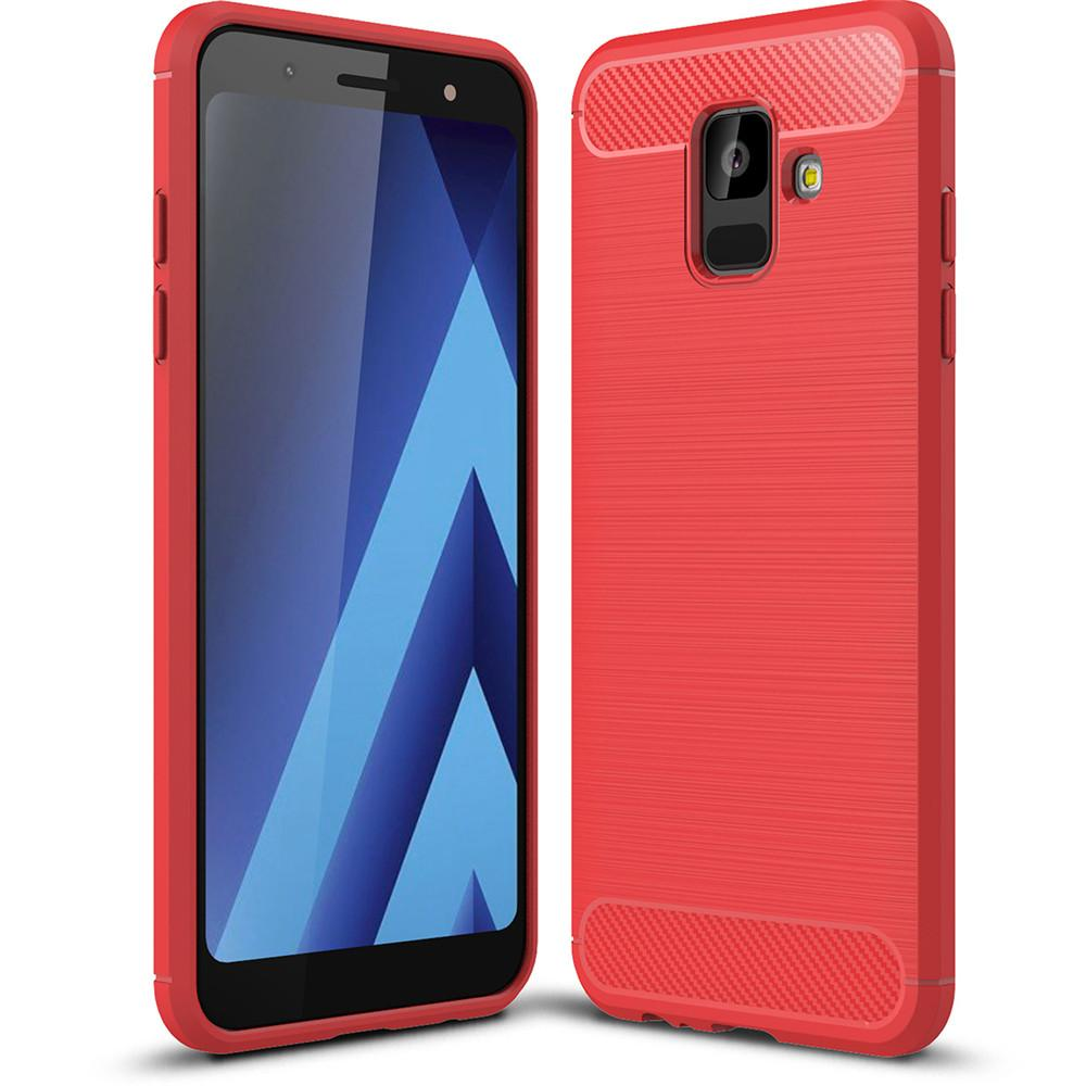 Fitur Softcase Carbon Samsung Galaxy A6 2018 Case Carbon Dan Harga