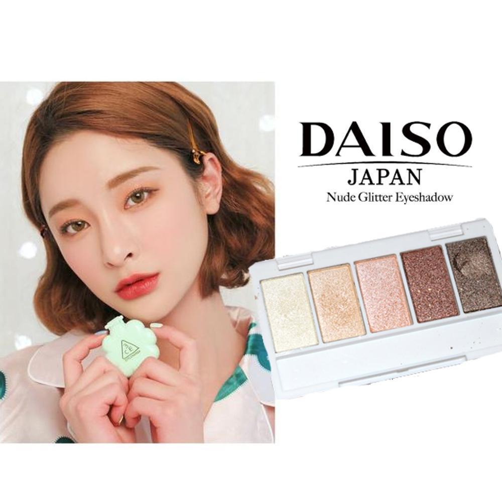 Glitter Shimmering Highlight Eyeshadow Japan 5pcs Natural Look