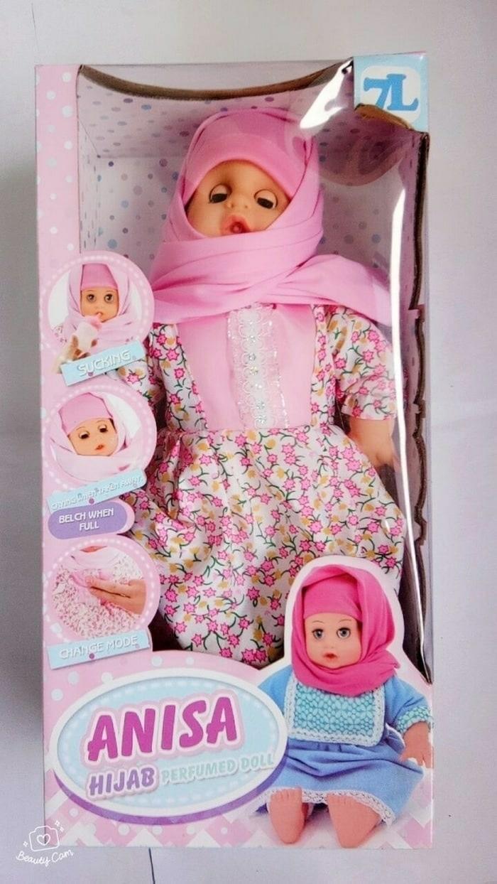 Boneka Anisa Berhijab Bisa Bicara dan Berdoa - q5oNFq