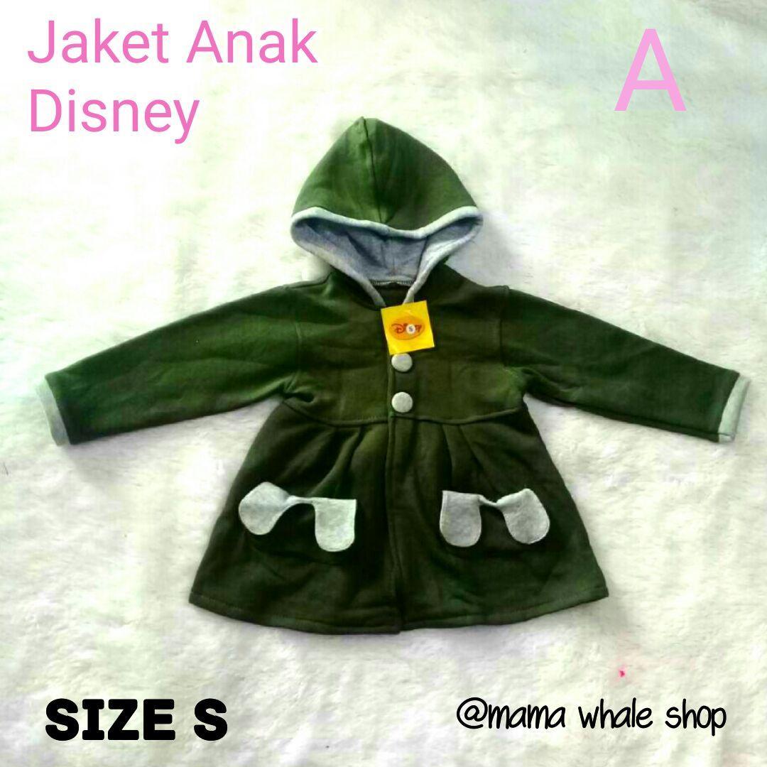 Jaket Anak Perempuan - Sweater Anak (1-6th)