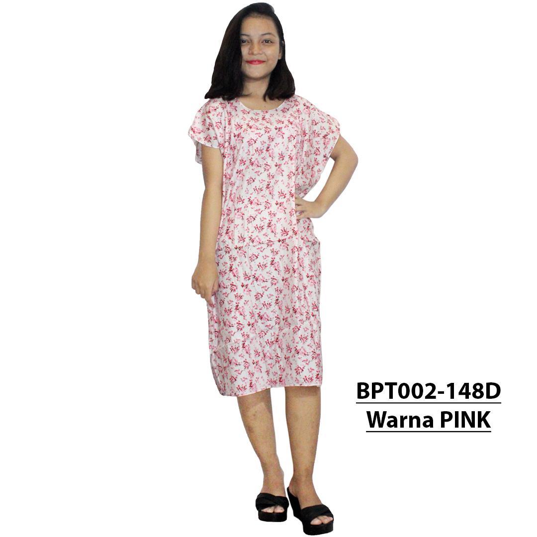 The Cheapest Price Daster Batik Lengan Pendek Baju Tidur Cap Rdt001 18 Midi Dress Santai Piyama Atasan Bpt002 148