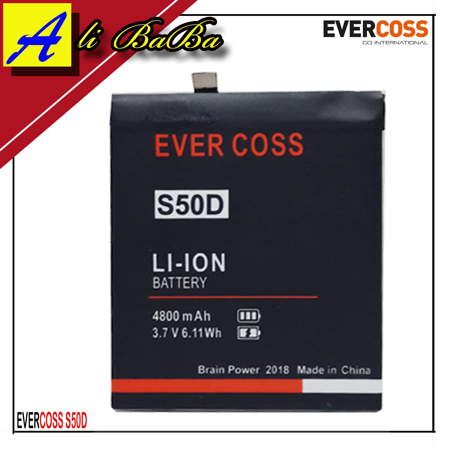 Baterai Handphone Evercoss Genpro X S50D X50D Double Power Evercoss Batre HP Cross S50D Batu Batre Evercoss Genpro X