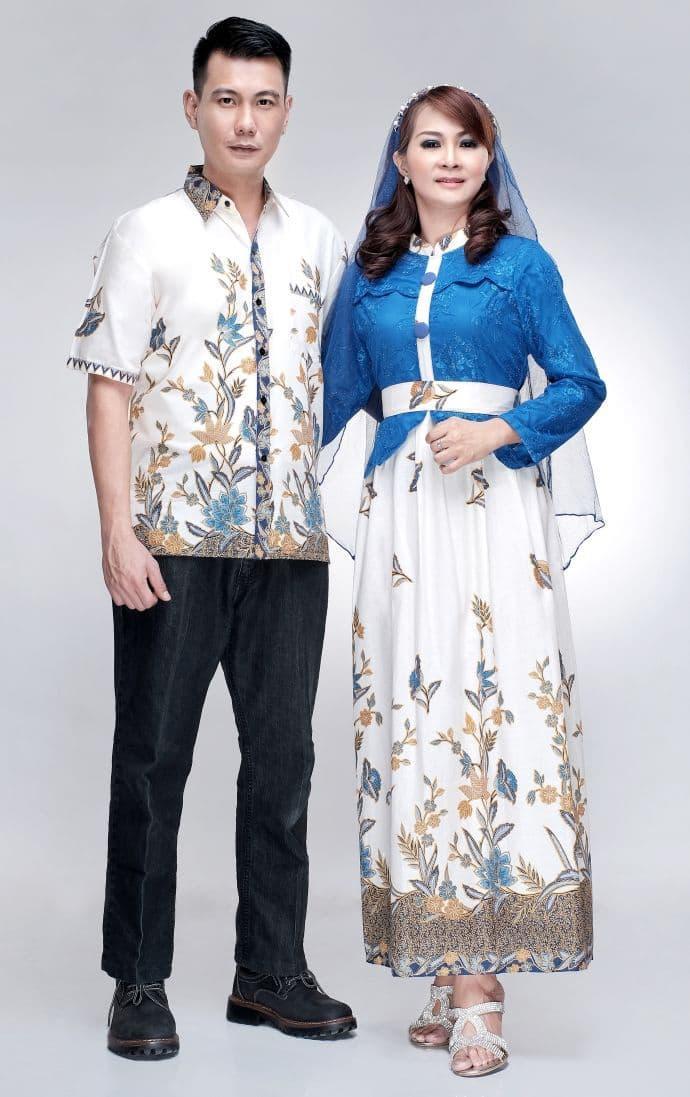 batik keluarga/ batik sarimbit gamis Kanaya / batik  brokat mix katun