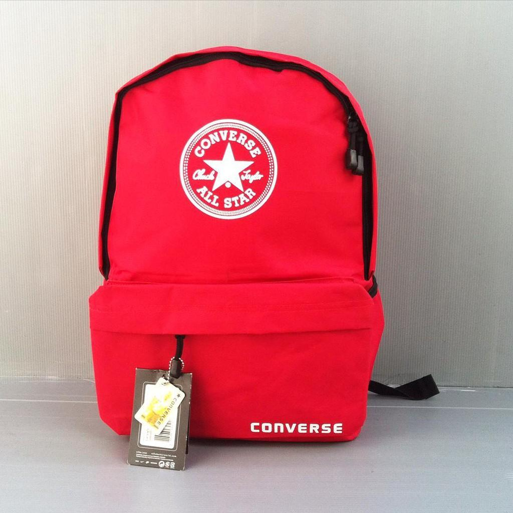 Tas Ransel Converse Merah Tas Punggung Backpack Grosir Murah