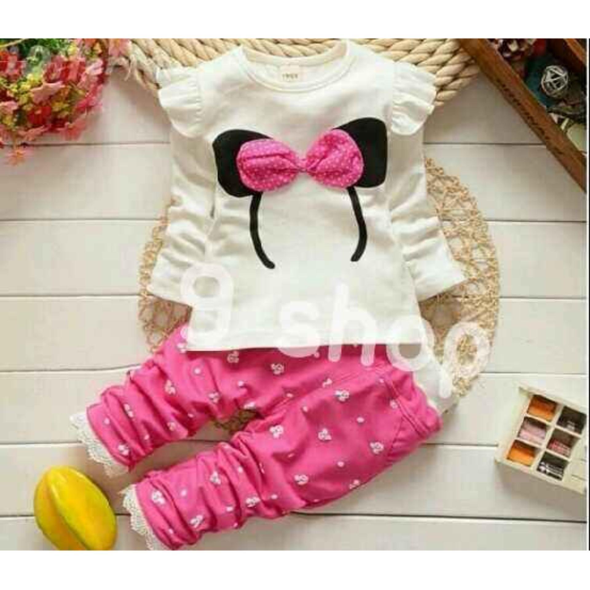 9 Shop Setelan Baju dan Celana Anak Perempuan BANDO / Stelan Baju Anak Perempuan / Stelan Anak Cewek / Baju Anak Perempuan / Celana Anak Perempuan / Setelan Anak Cewek / Setelan Anak Murah / Baju Anak Murah / Stelan Kartun Anak