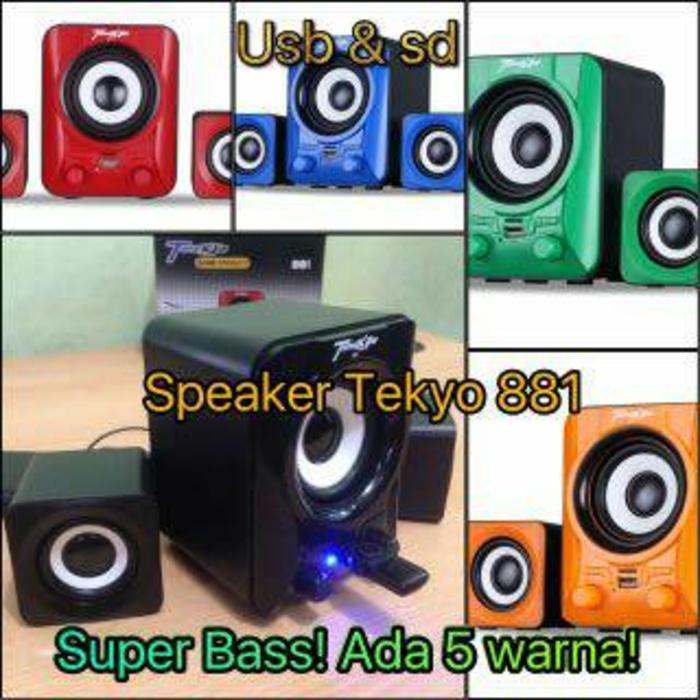 Speaker aktif Tekyo 881 GMC bisa USB &MICRO SD