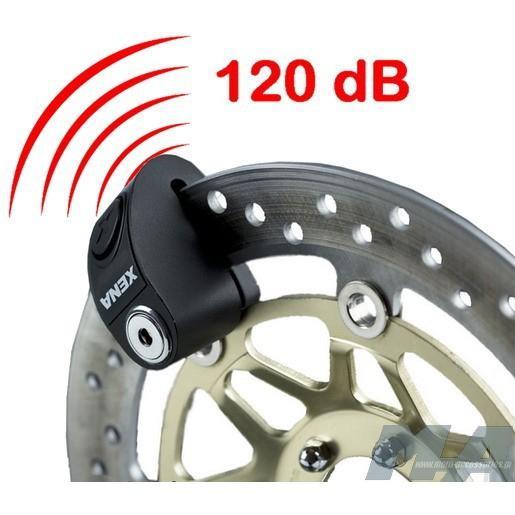XENA Gembok Alarm ( Disc Lock Alarm) Type XZZ6L T2080