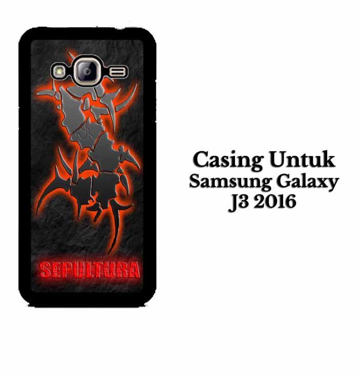 Casing SAMSUNG J3 2016 sepultura Hardcase Custom Case Se7enstores