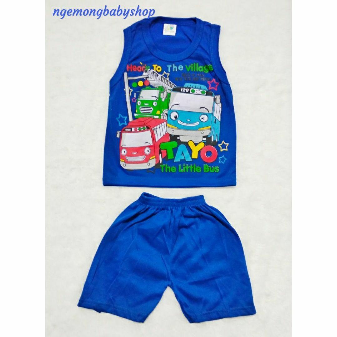 Jual Setelan Anak Tayo Murah Garansi Dan Berkualitas Id Store Stelan Kaos Baju Laki Murahidr20000 Rp 20000