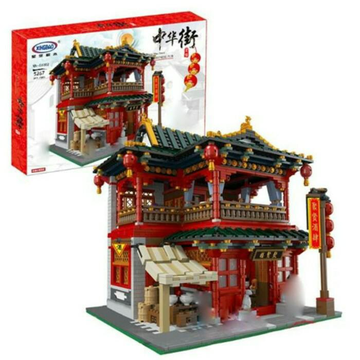BEST SELLER!!! LEGO XINGBAO 01002 TRADITIONAL CHINESE PUB KEDAI PARA PENDEKAR 3267 pc - 3PInM4
