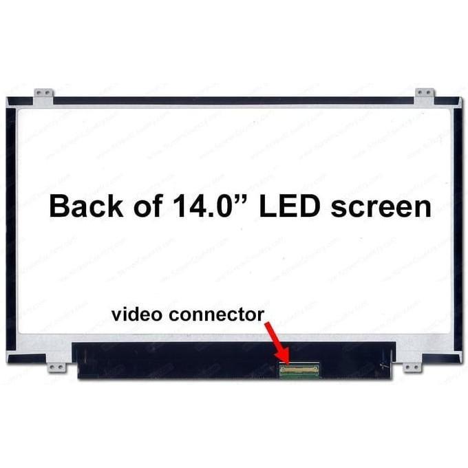 LCD LED 14.0 LAPTOP ASUS X450J X450JF X450CA X450C X450CC A450CA X450 - ELEKTROZONE