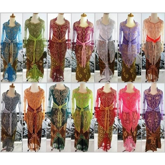 PROMO SALE ! Baju Kebaya Modern Lengan Panjang Tile Wisuda Pesta Muslim Shanghai PROMO TERMURAH