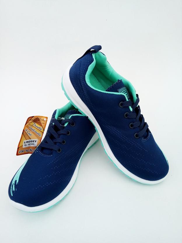 PROMO Ando Original - Lindsey Adelline Ukuran 41 - Sepatu Olahraga Fitness Gym Lari Jogging Kuliah
