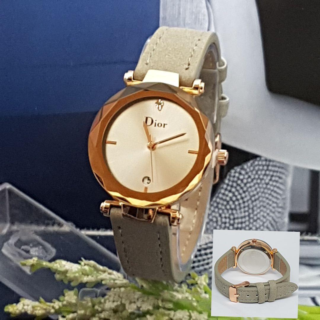 Jam Tangan Dior Impor Murah/Promo Tahun ini Best Seller - Wanita