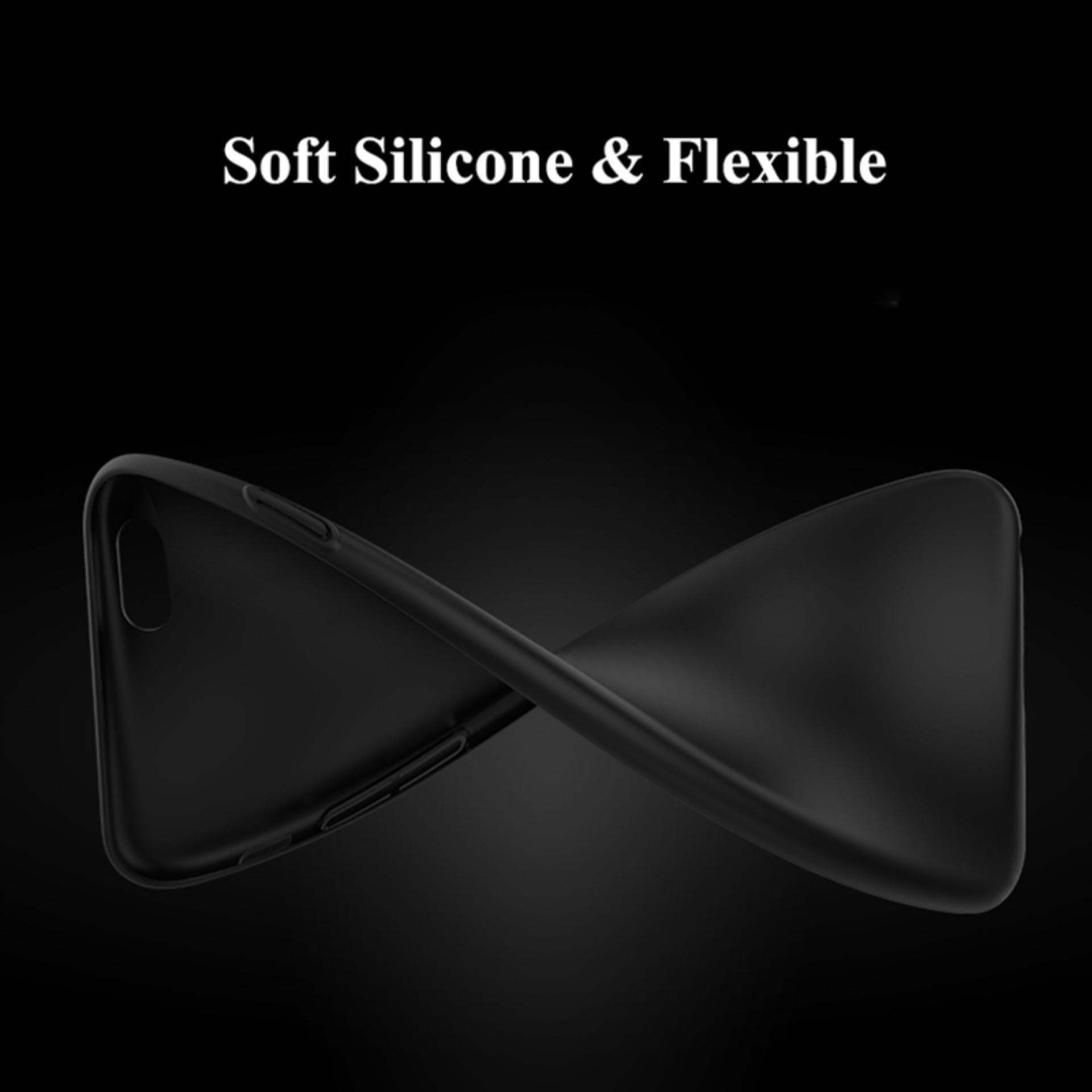 Case Slim Black Matte Vivo Y51 / Y51L / Y51T - Black Doff - 2