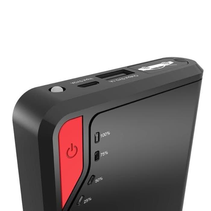 SALE - Vivan powerbank JP08 8000mAh Jump Starter Power Bank Original Resmi