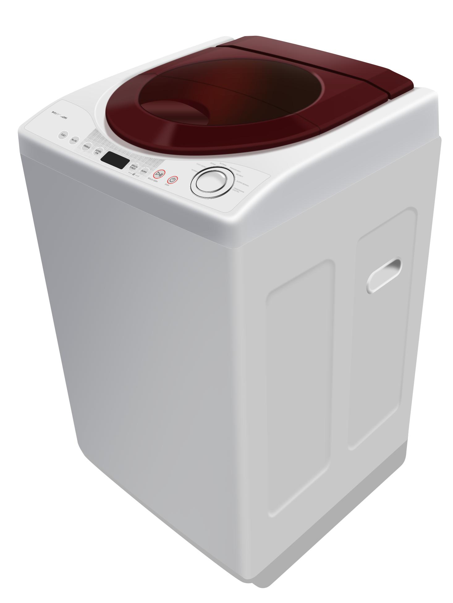 Polytron PAW 8511 Top Loading Washing Machine 8,5Kg - Khusus JADETABEK