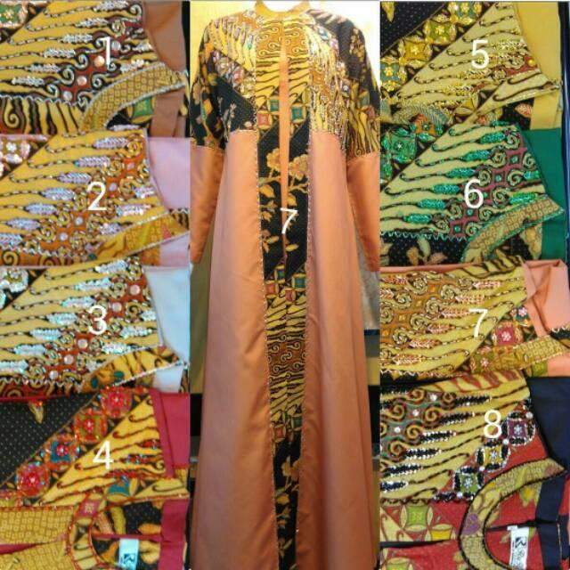 Gamis Bahan Katun Ima /RR Collection