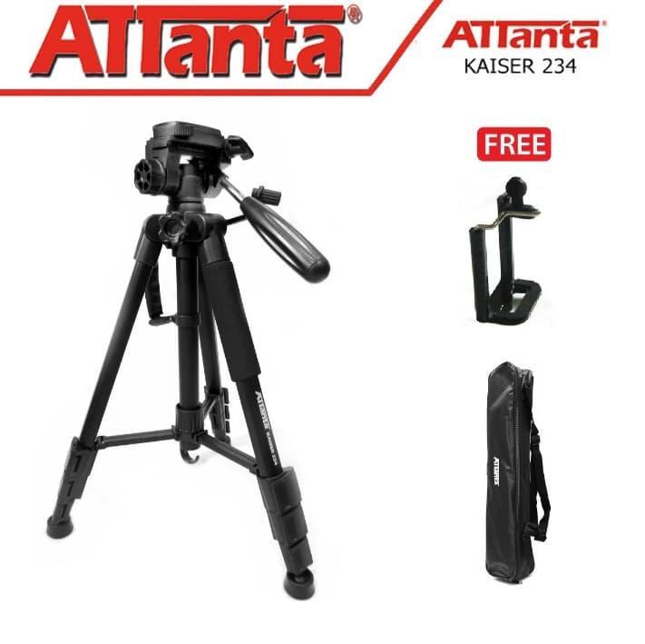 Tripod camera dslr attanta kaiser 234   bag  tripod video