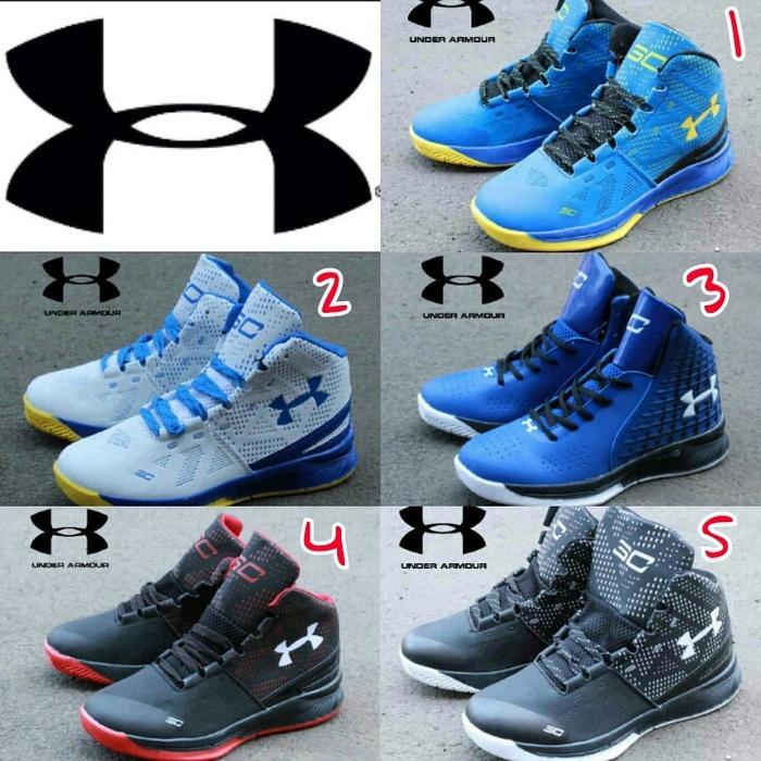 Sepatu Basket Under Armor terbaru termurah