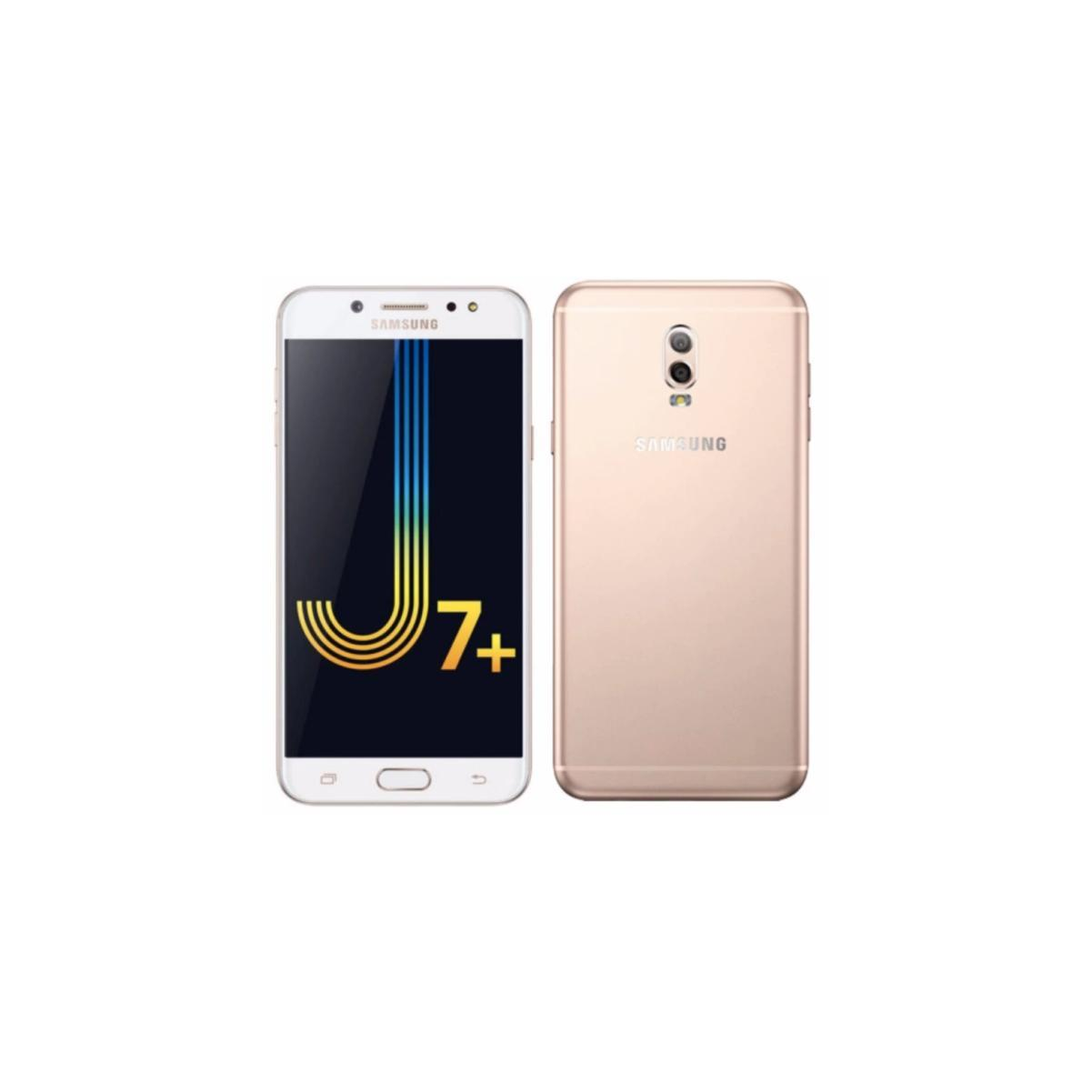 Android Nougat 71 Samsung Galaxy J7 Plus Smartphone