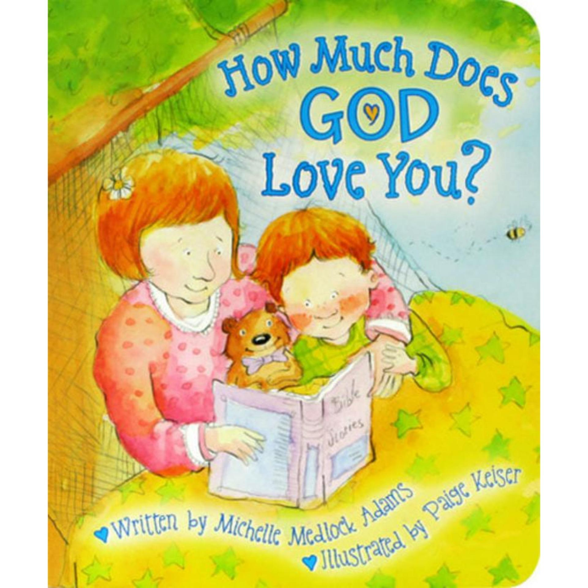 OBRAL MURAH Buku Edukasi Anak How Much Does God Love You? Board Book Stories for Kids