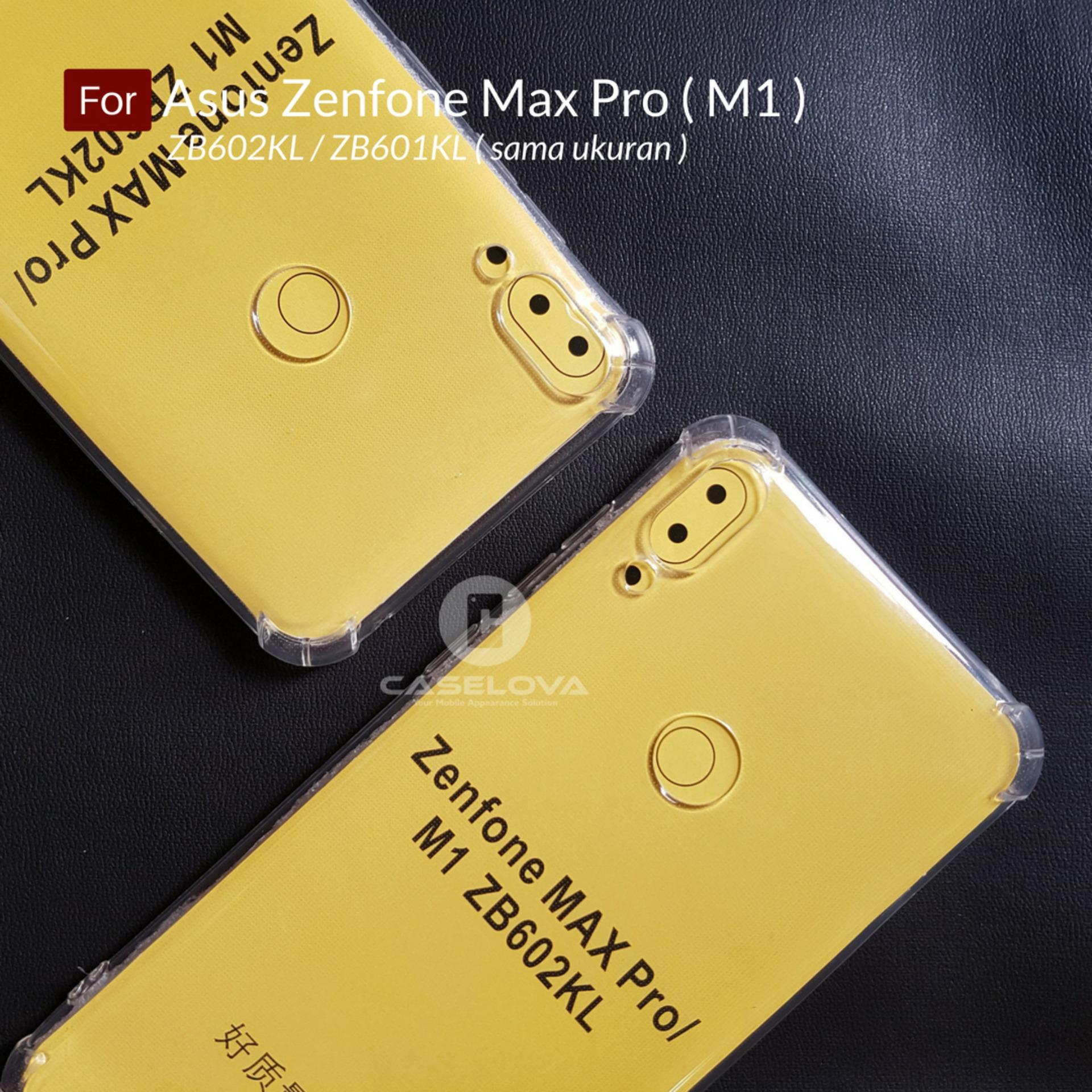 Detail Gambar Caselova Anti Crack TPU Shockproof Case for Asus Zenfone Max Pro M1 ZB602KL ZB601KL Clear Terbaru
