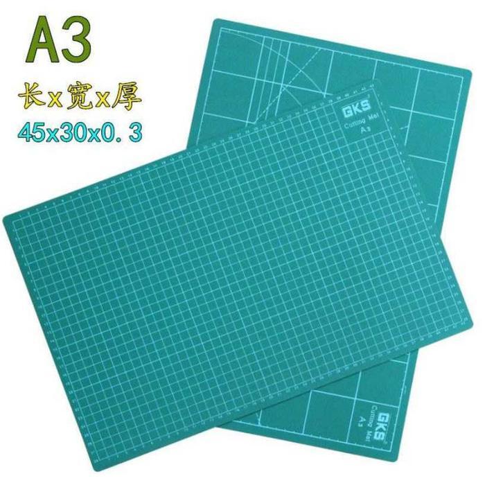 Work Cutting Mat Pad A3 45 X 30Cm - Hijau