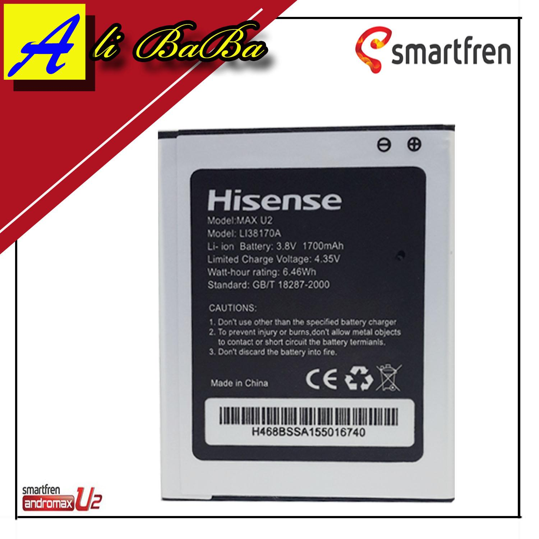 Baterai Handphone Smarfren Andromax U2 4G LTE E2 Plus Andromax Qi Li38170A Battery HP Andromax U2 Batu Batre SMart HP Samrtfren Andromax Qi