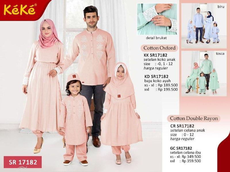 Qonitah Project KK SR 17182 Size 4 Original Keke Busana Koko Anak Lengan Panjang Busana Muslim Baju Muslim Branded