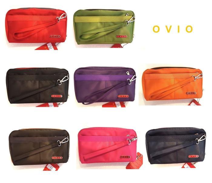 OVIO HPO 3110 - Dompet Multifungsi (Wallet Handphone Pouch Organizer) - Hitam - OOX8sh