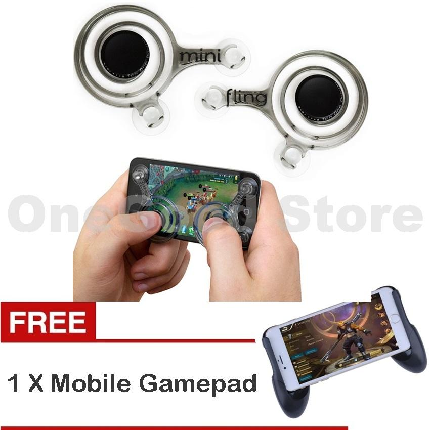 Gamepad Controller Game for Android Mobile Legend/AOV for All Smartphone + Free Joystick Mobile - Warna RandomIDR32010. Rp 32.495