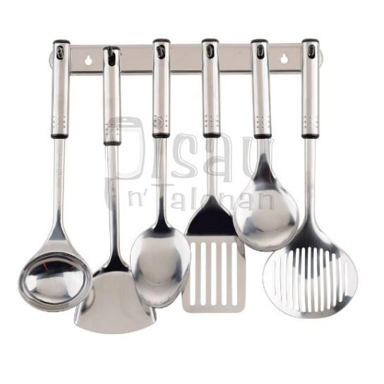 Ox-963 Spatula Set Stainless Oxone - Z7qppg