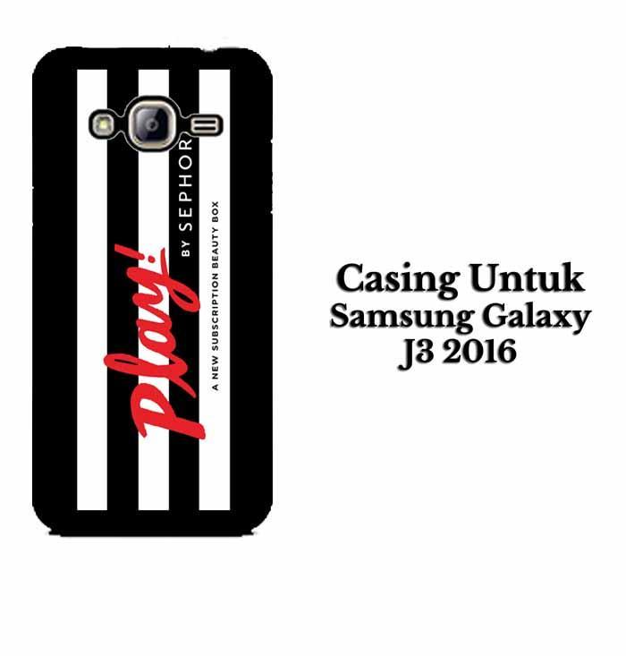 Casing SAMSUNG J3 2016 Play by Sephora Hardcase Custom Case Se7enstores