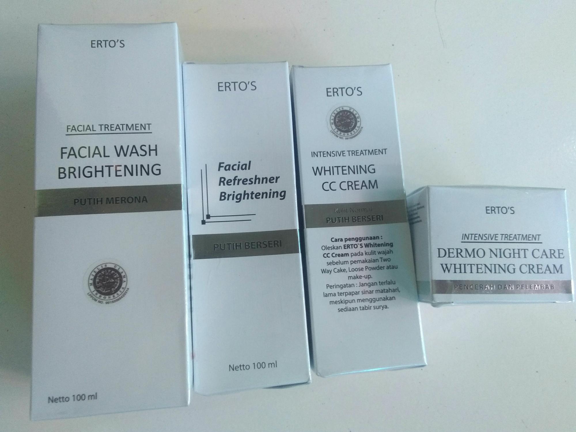Kelebihan Ertos Paket Why Acne Skin Care Jerawat Facial Wash Facian Treatment Night Toner Cc Cream