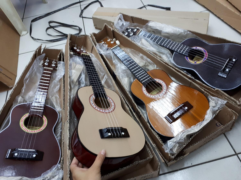 Fox- Gitar Kentrung Akustik IMPORT- Gratis PICK -Packing DUS- UKULELE Murah senar 4 Nylon