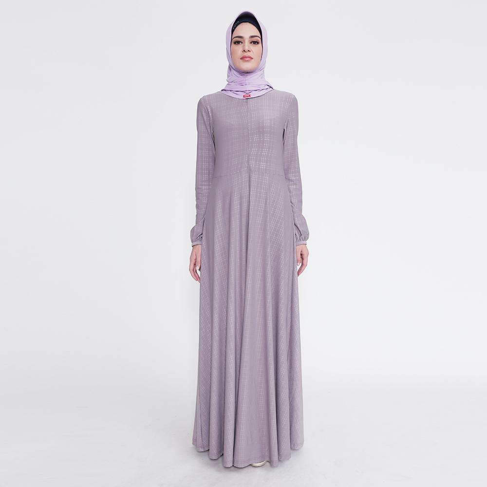 Zoya Inner Dress Muslimah - Inner Lara Embos / Inner Zoya