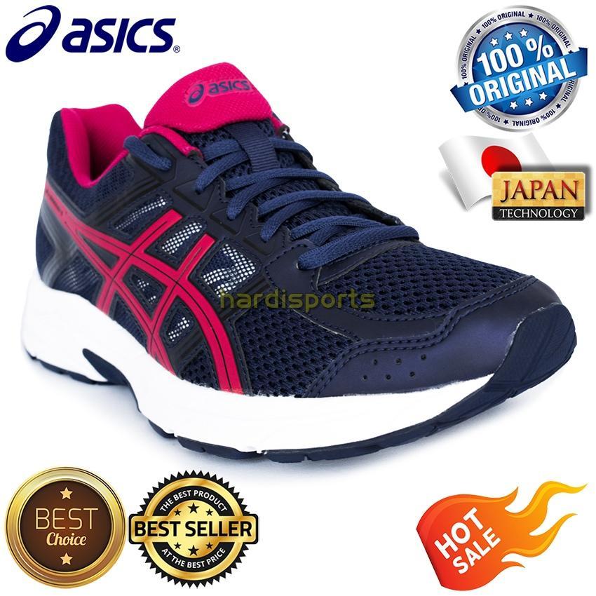 Sepatu Running Wanita Asics Gel Contend 4 T765N-4920 - Indigo Blue