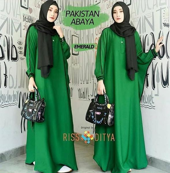 RUVAGO- DRESS WANITA GAMIS CANTIK DRESS KEKINIAN DRESS ADEM MAXI WANITA DEWASA MURAH HIGH QUALITY FAKISTAN ABAYA DRESS