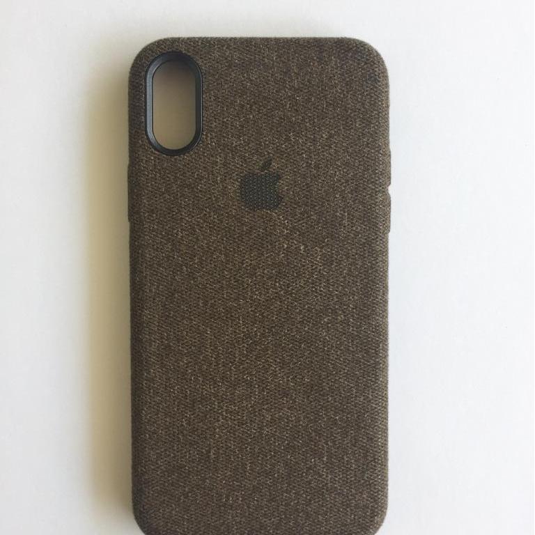 Casing Jeans Iphone X/ 10 Ultra Luxury Case Semi Hardcase - BROWN