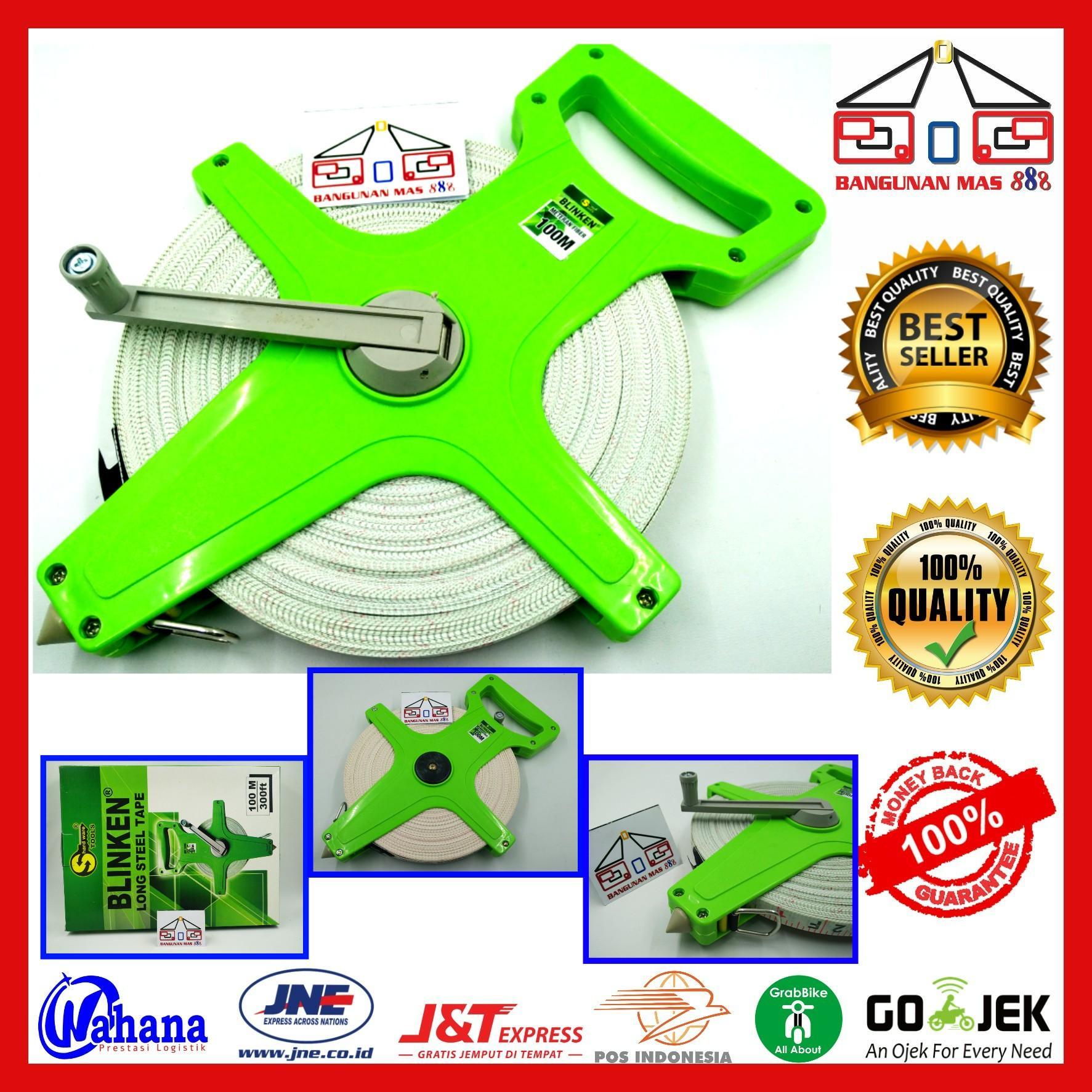 Jual Wipro Meteran Roll Murah Garansi Dan Berkualitas Id Store Toda Fiber 50m 165ft Rp 101500
