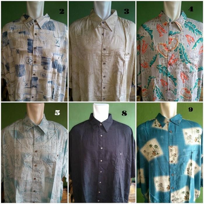 Kemeja Pantai Big Size - Hawaiian Shirts - Baju Pantai Big Size - Gifzxi